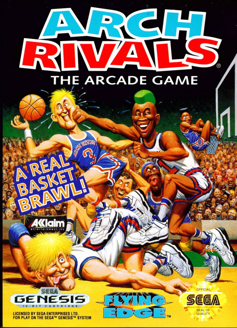 Arch Rivals Genesis Front Cover