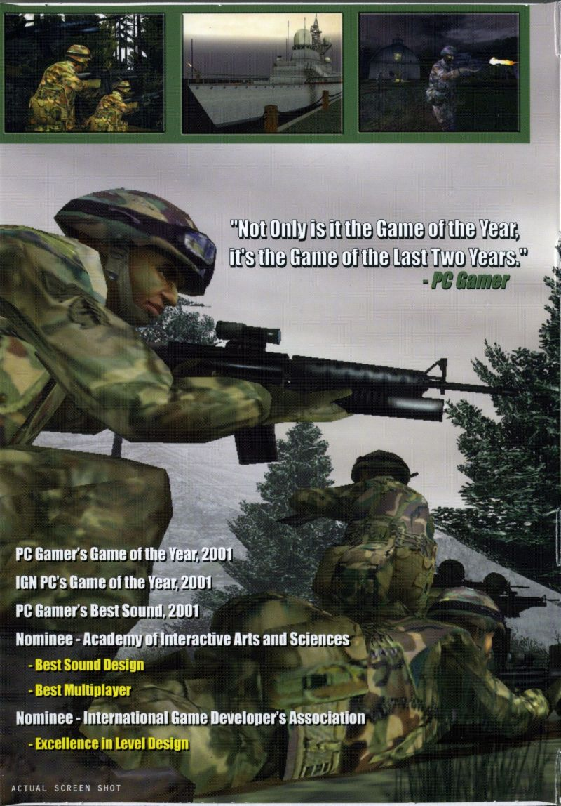Tom Clancy's Ghost Recon Windows Inside Cover Left Flap