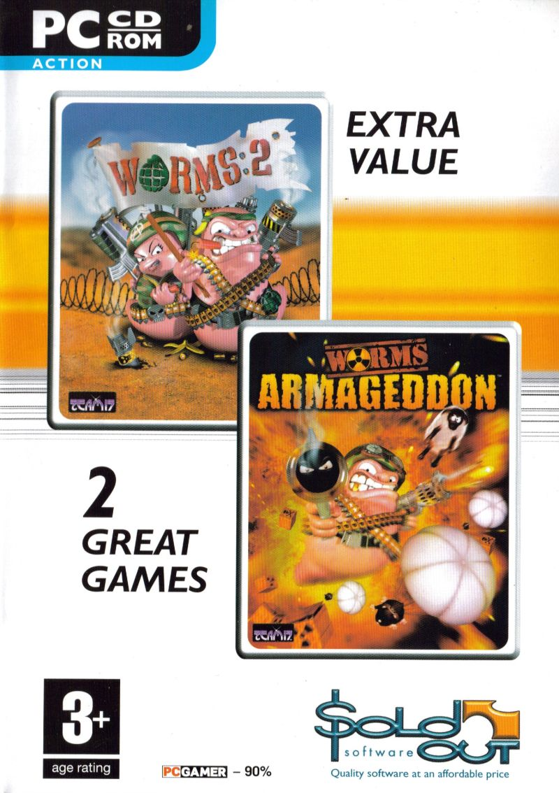 Worms 2 / Worms Armageddon Windows Front Cover