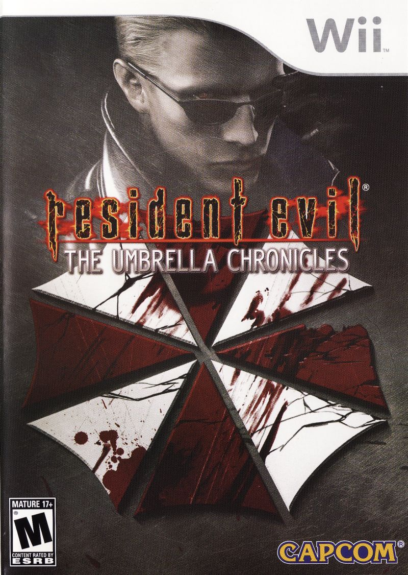 Resident Evil: The Umbrella Chronicles Wii Front Cover