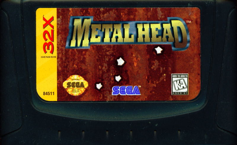 Metal Head SEGA 32X Media