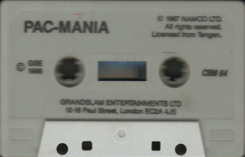 Pac-Mania Commodore 64 Media