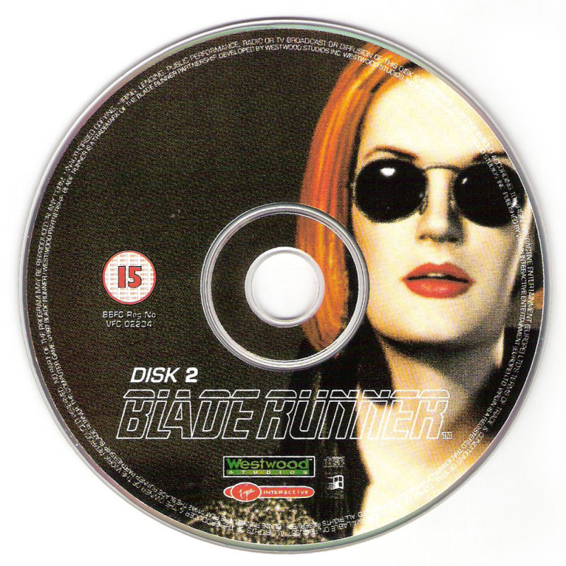 Blade Runner Windows Media Disc 2