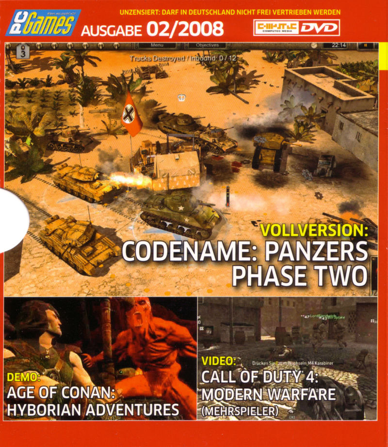 Codename: Panzers - Phase Two Windows Front Cover