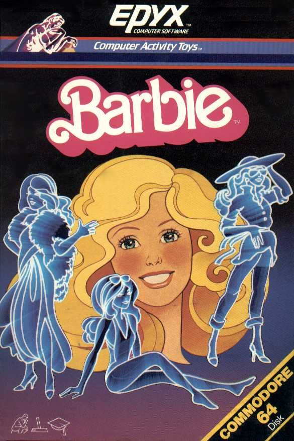 Barbie Commodore 64 Front Cover