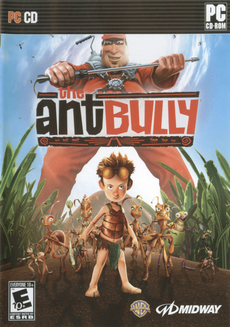 The Ant Bully Windows Front Cover