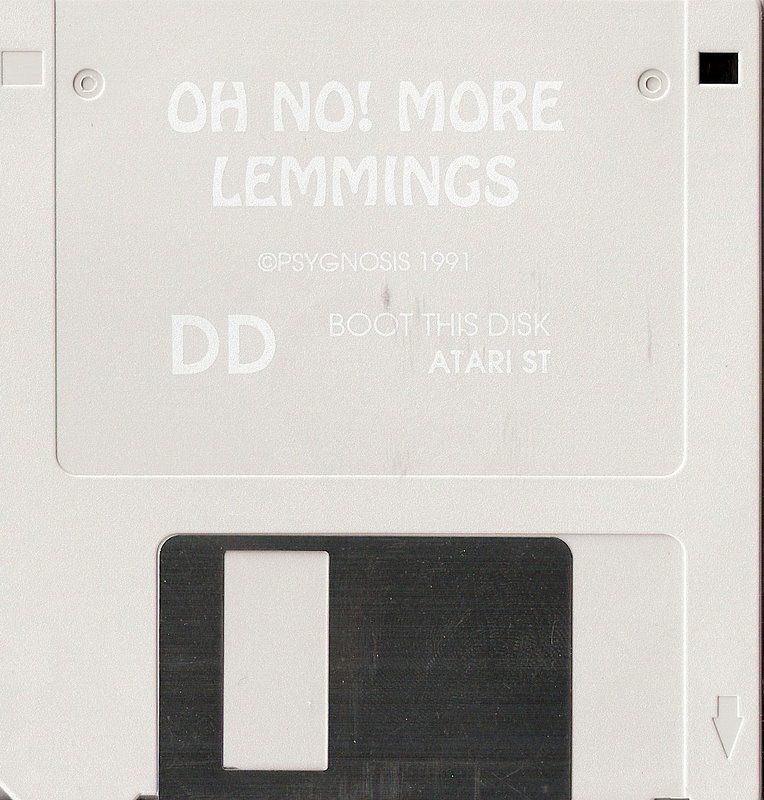 Oh No! More Lemmings Atari ST Media