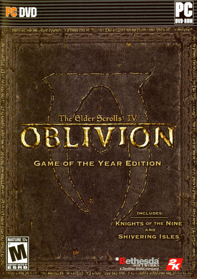 The Elder Scrolls IV: Oblivion - Game of the Year Edition Windows Front Cover