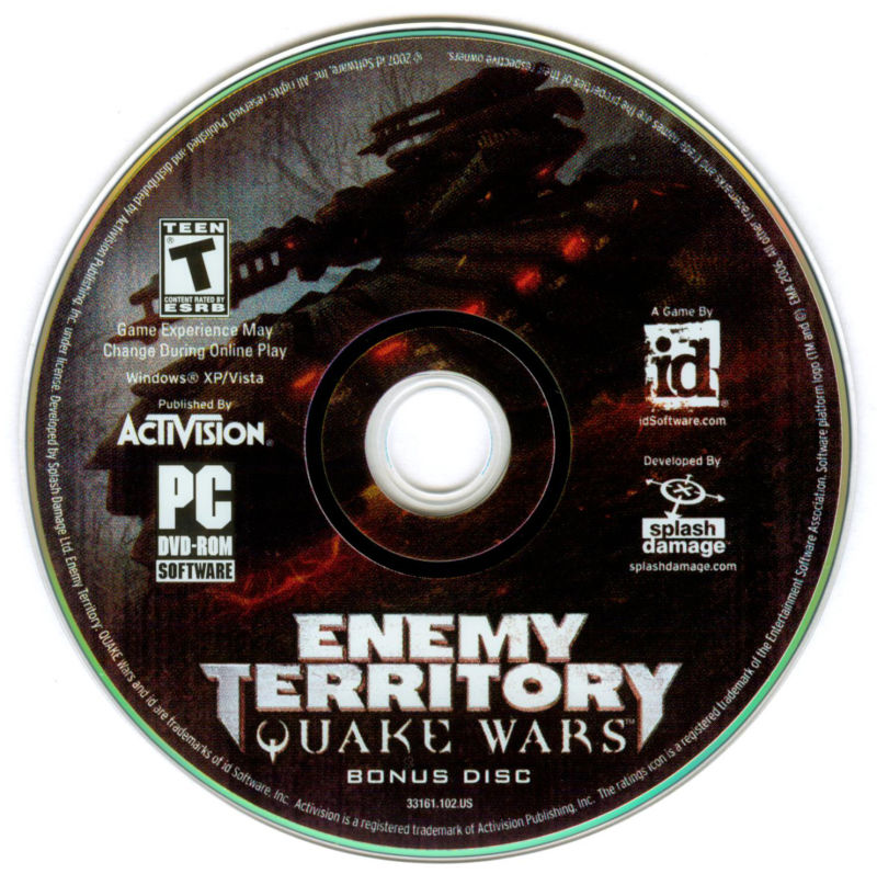 Enemy Territory: Quake Wars (Limited Collector's Edition) Windows Media Disc 2