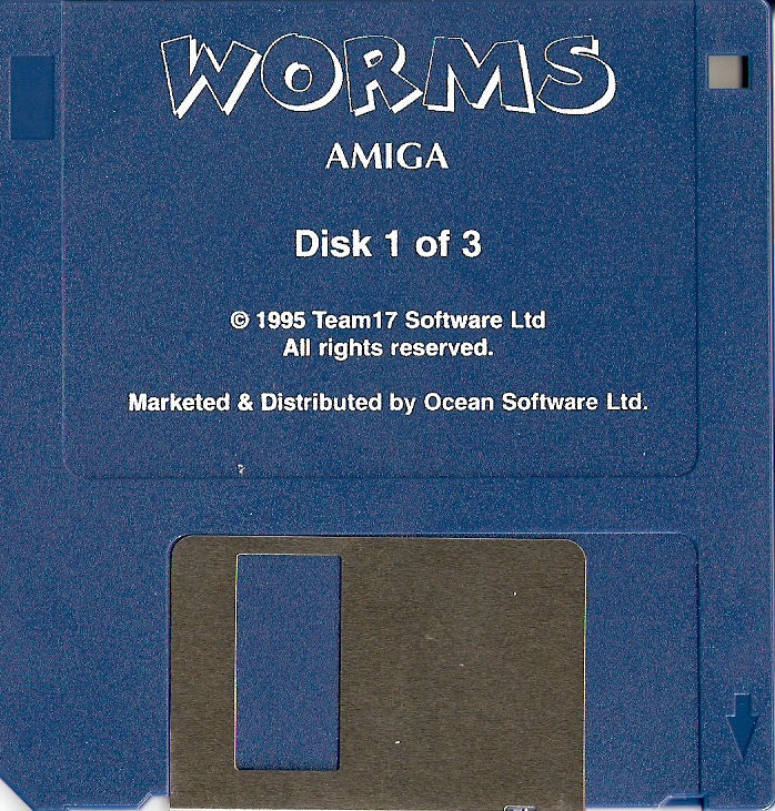 Worms Amiga Media Disk 1/3