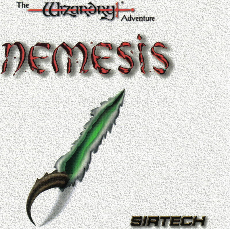 Nemesis: The Wizardry Adventure DOS Other Jewel Case - Front
