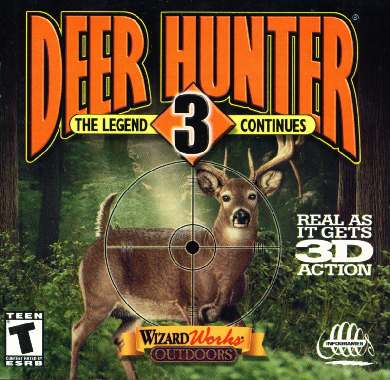 Deer Hunter 3: The Legend Continues (1999) Windows box ...