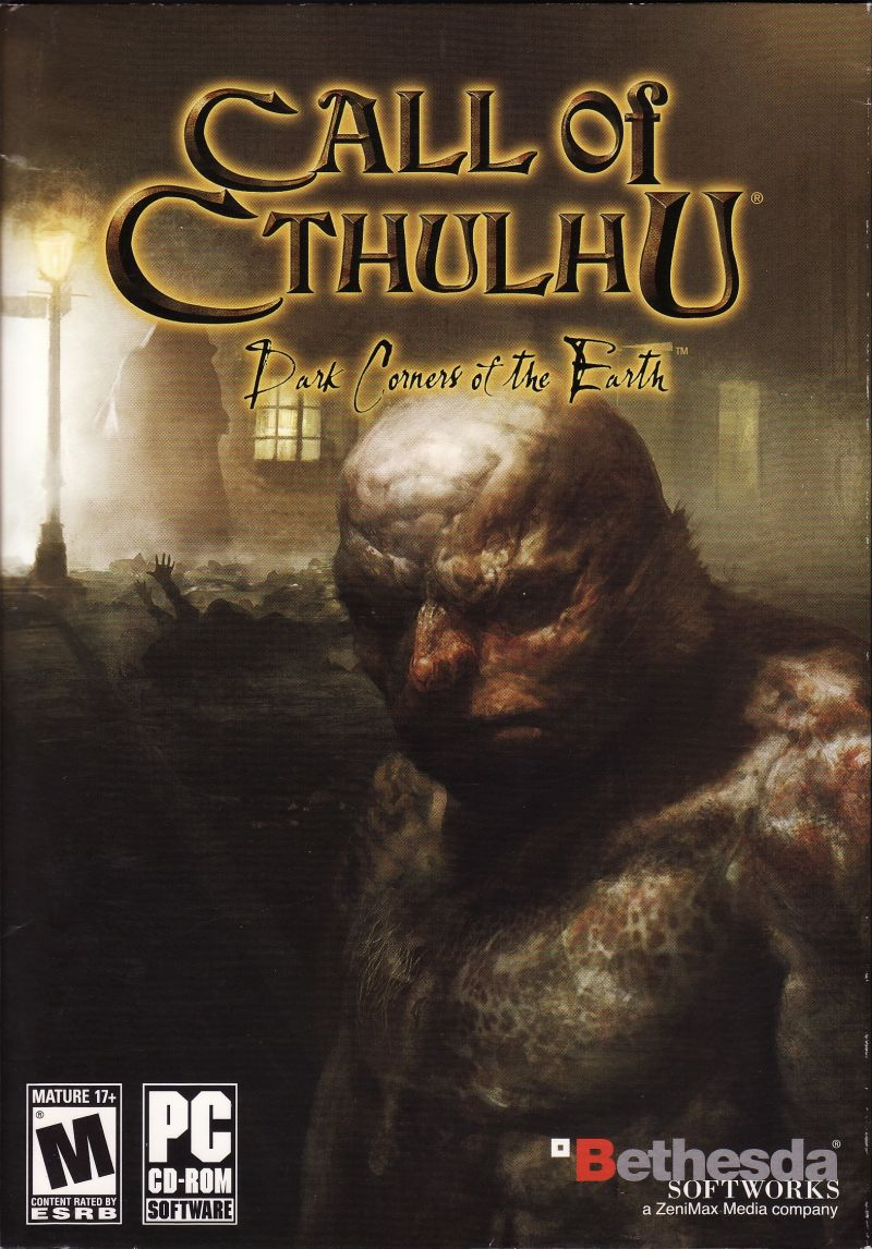 Call of Cthulhu: Dark Corners of the Earth Windows Front Cover