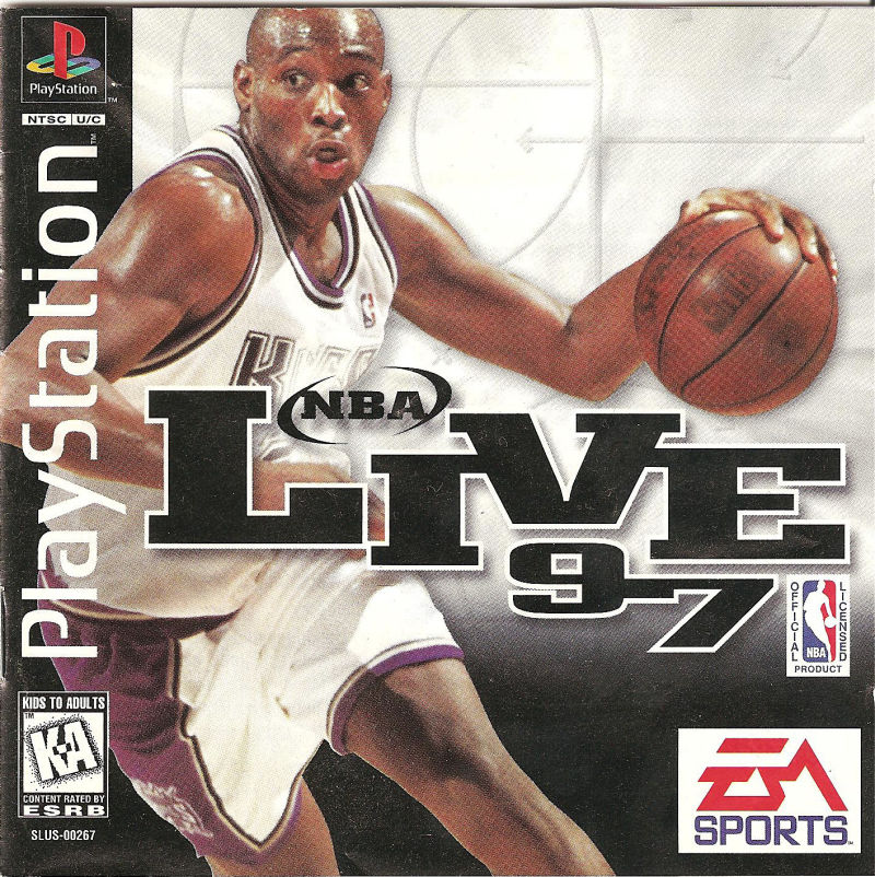 NBA Live 97 PlayStation Front Cover