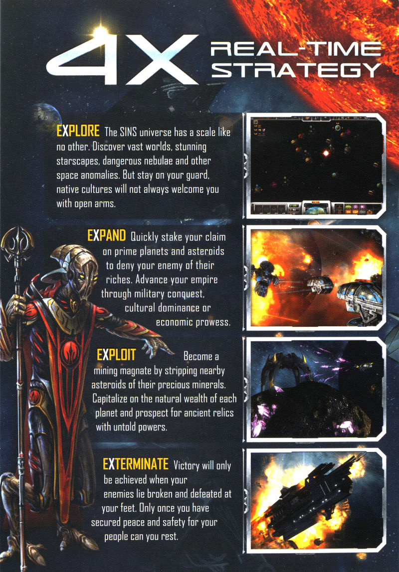 Sins of a Solar Empire Windows Inside Cover Left Flap