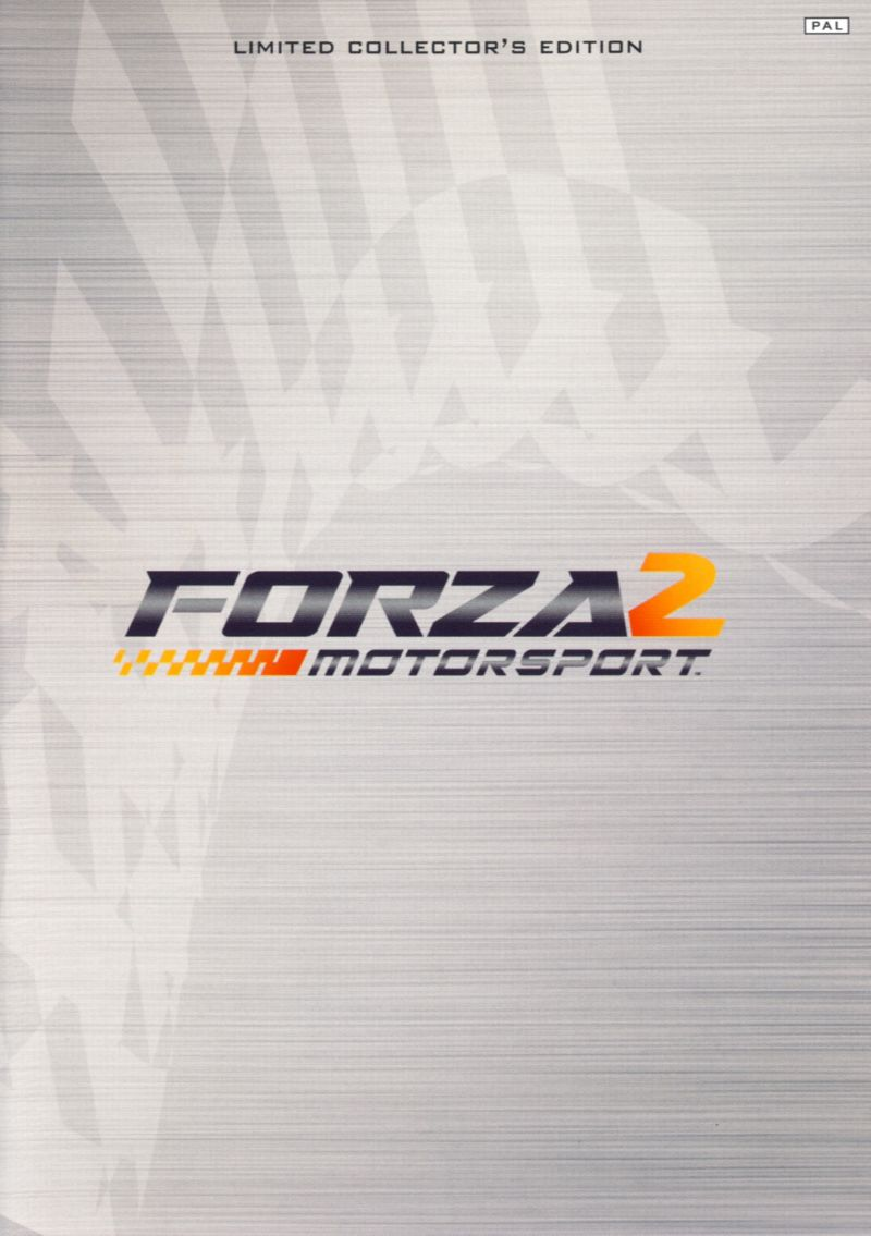 Forza Motorsport 2 (Limited Collector's Edition) Xbox 360 Other Keep Case - Front