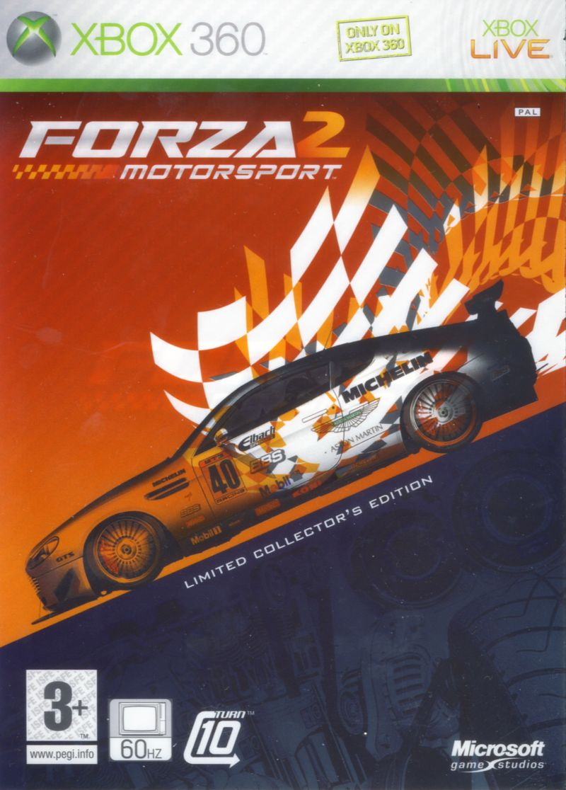 Forza Motorsport 2 (Limited Collector's Edition) Xbox 360 Front Cover