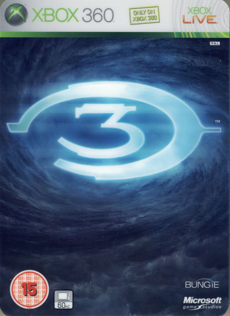 Halo 3 (Limited Edition) Xbox 360 Front Cover
