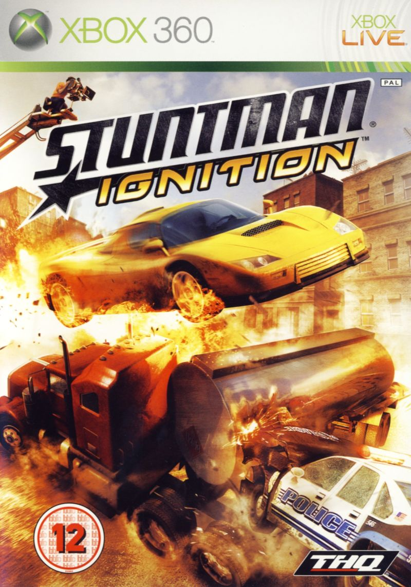 Stuntman: Ignition Xbox 360 Front Cover
