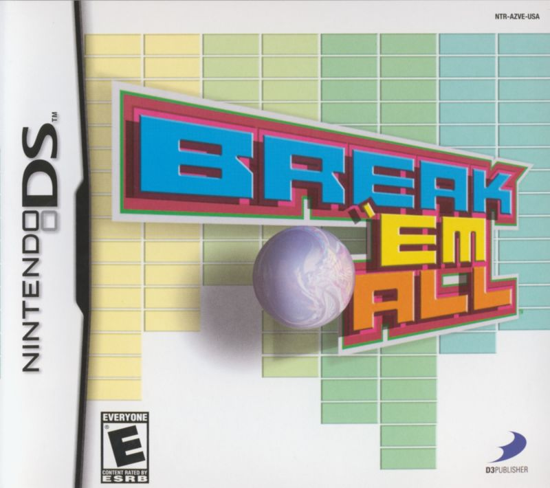 Break 'em All Nintendo DS Front Cover