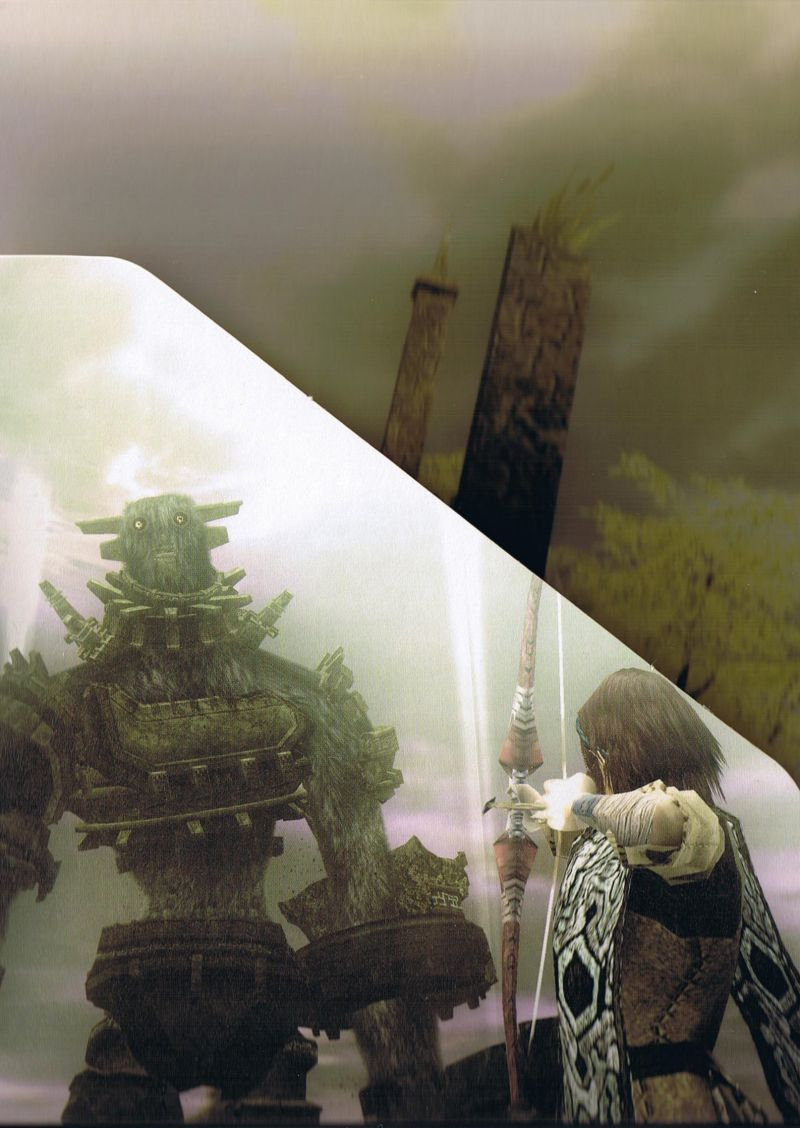 Shadow of the Colossus PlayStation 2 Other Digipack - Inner Left