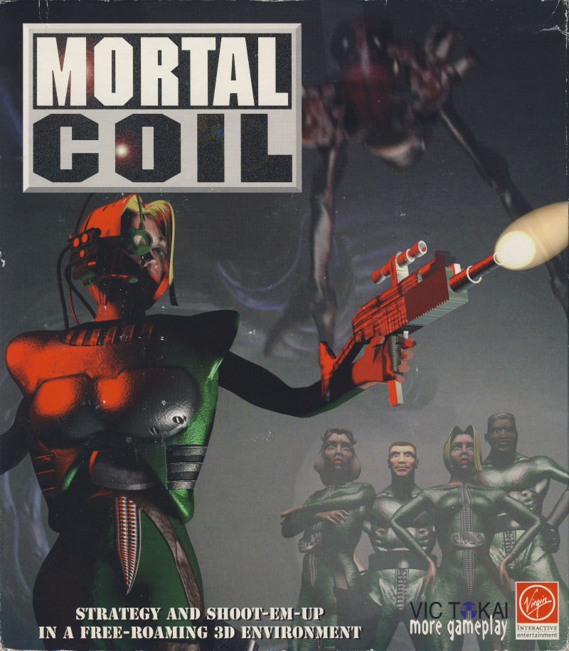 Mortal Coil: Adrenalin Intelligence DOS Front Cover