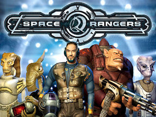 Space Rangers Windows Front Cover