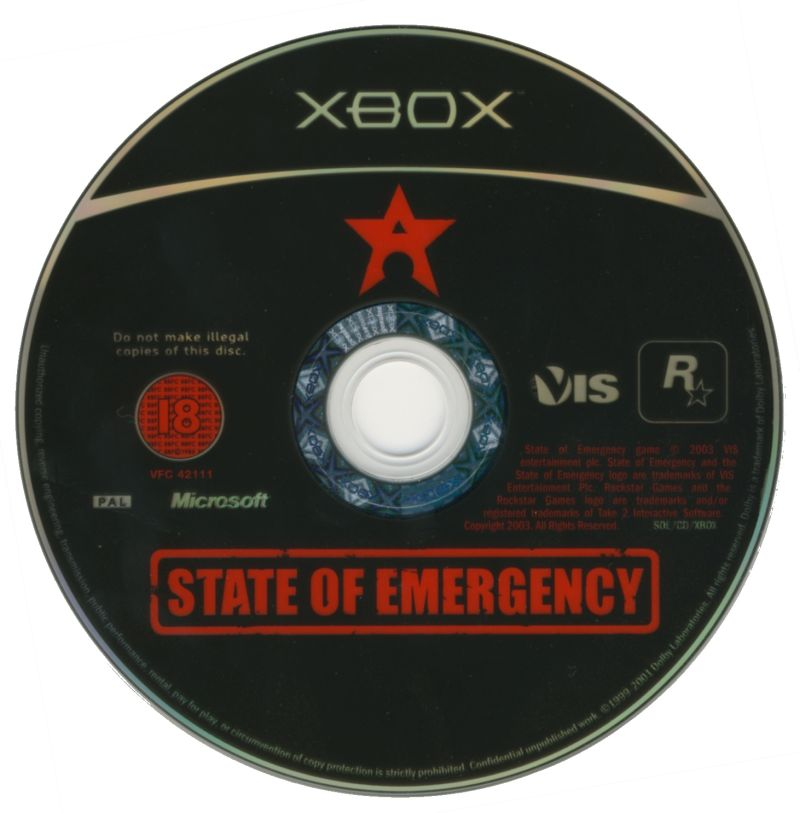 State of Emergency Xbox Media