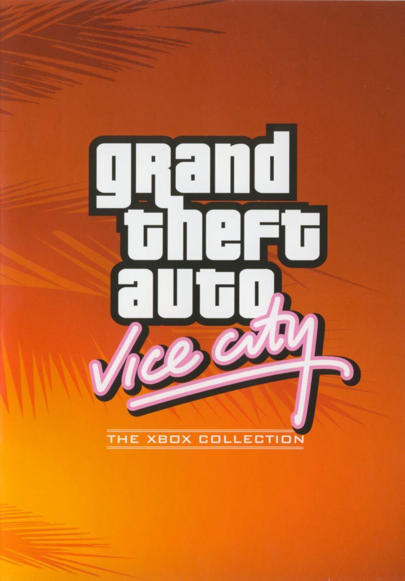 Rockstar Games Double Pack: Grand Theft Auto Xbox Other Grand Theft Auto: Vice City Keep Case - Front