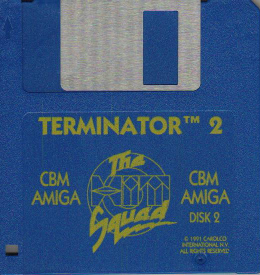 Terminator 2: Judgment Day Amiga Media Disk 2/2