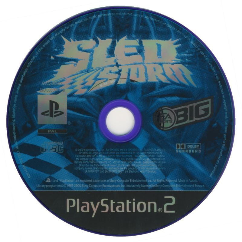 Sled Storm PlayStation 2 Media