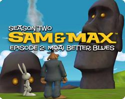 Sam & Max Episode 202: Moai Better Blues Windows Front Cover