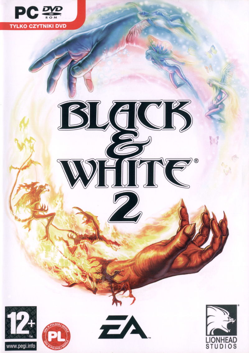 Black & White 2 Windows Front Cover