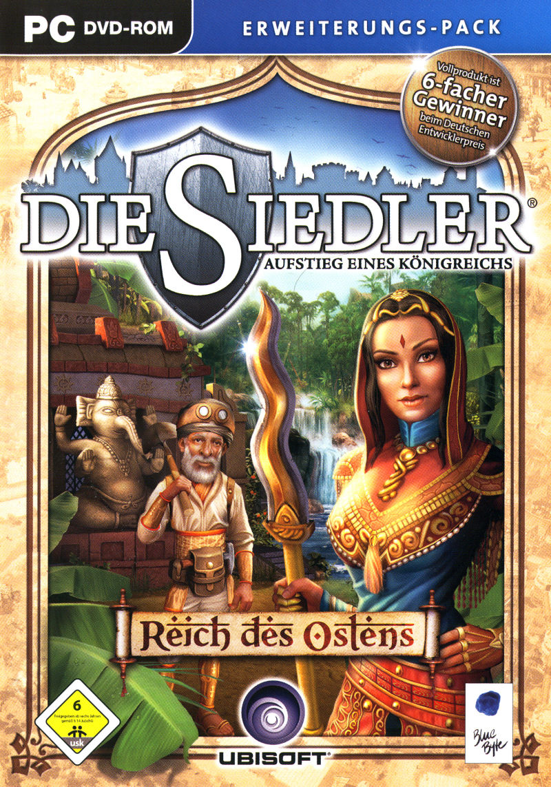 The Settlers: Rise of an Empire – The Eastern Realm Windows Front Cover