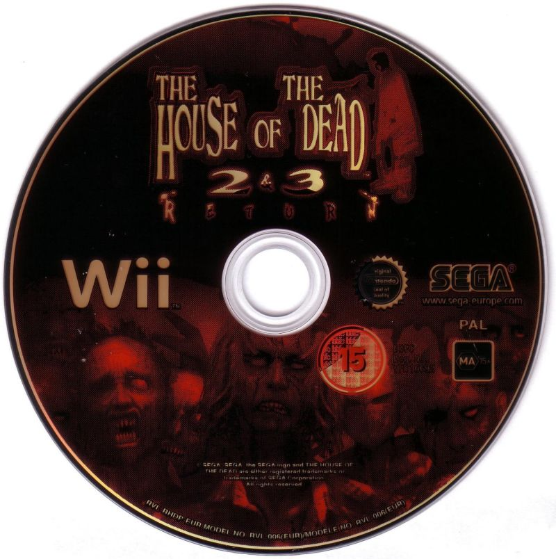 The House of the Dead 2 & 3 Return Wii Media
