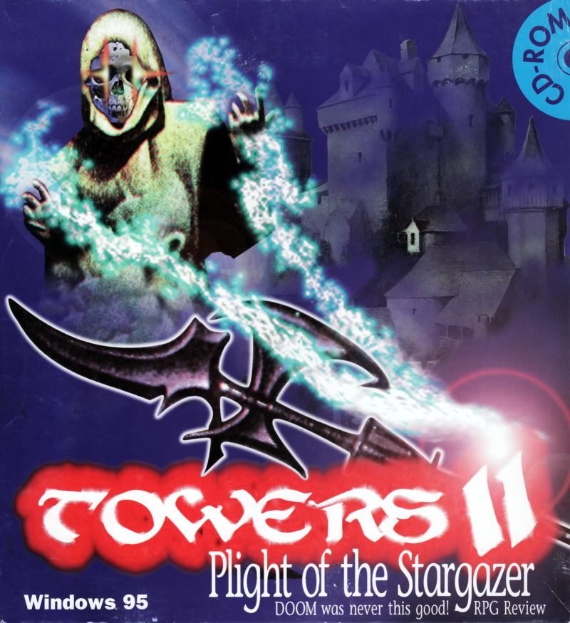 Towers II: Plight of the Stargazer Windows Front Cover