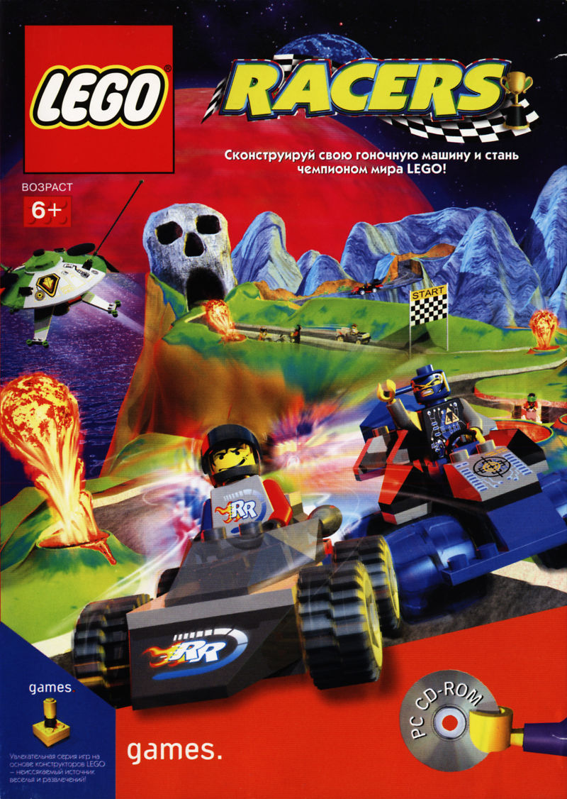 LEGO Racers Windows Front Cover