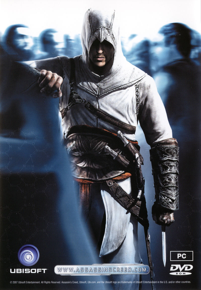 Assassin's Creed (Director's Cut Edition Pre-Order Pack) Windows Other Bonus DVD - Keep Case - Back