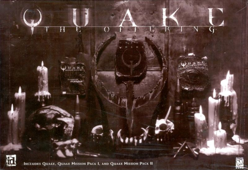 Quake: The Offering DOS Front Cover