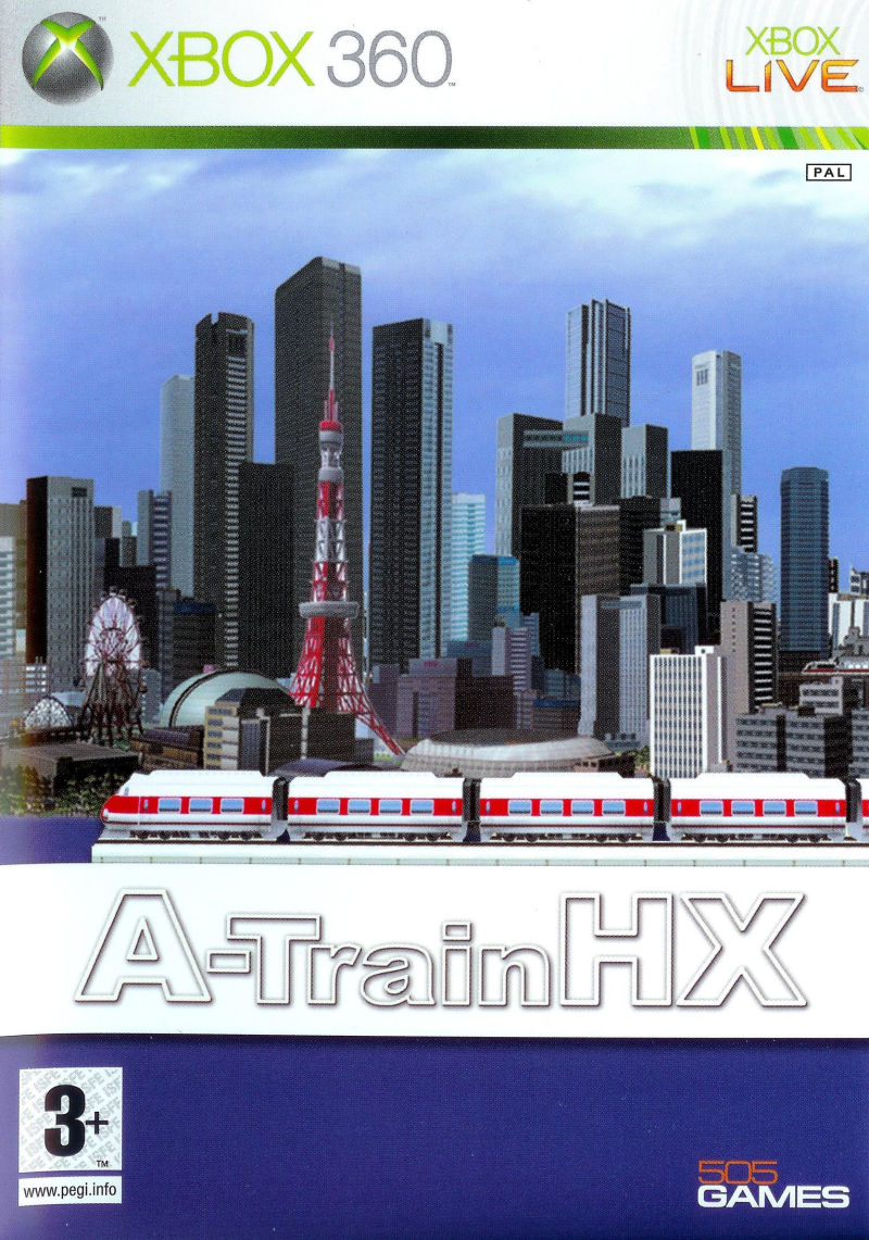 A-TrainHX Xbox 360 Front Cover