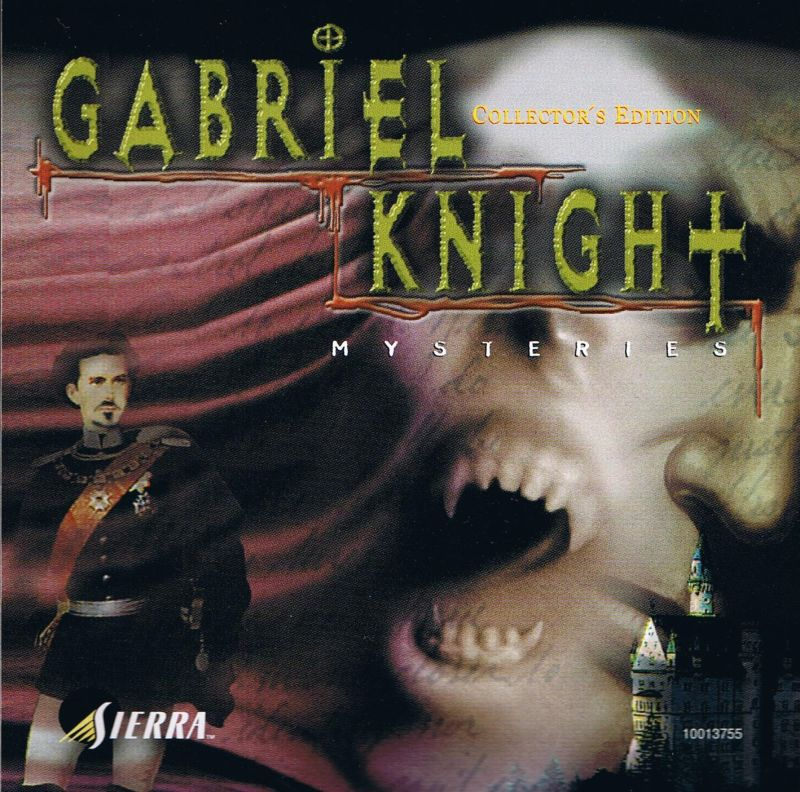 Gabriel Knight Mysteries: Limited Edition DOS Other Sins of the Fathers Jewel Case - Front