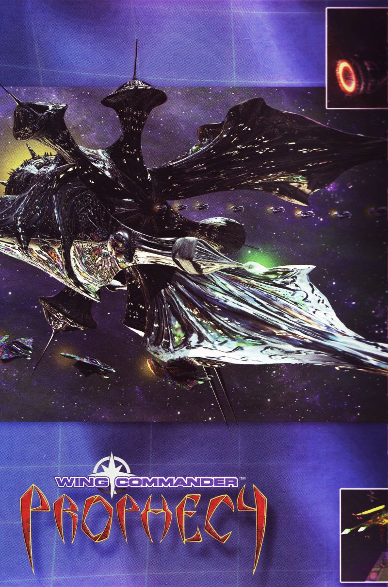 Wing Commander: Prophecy Windows Inside Cover Left