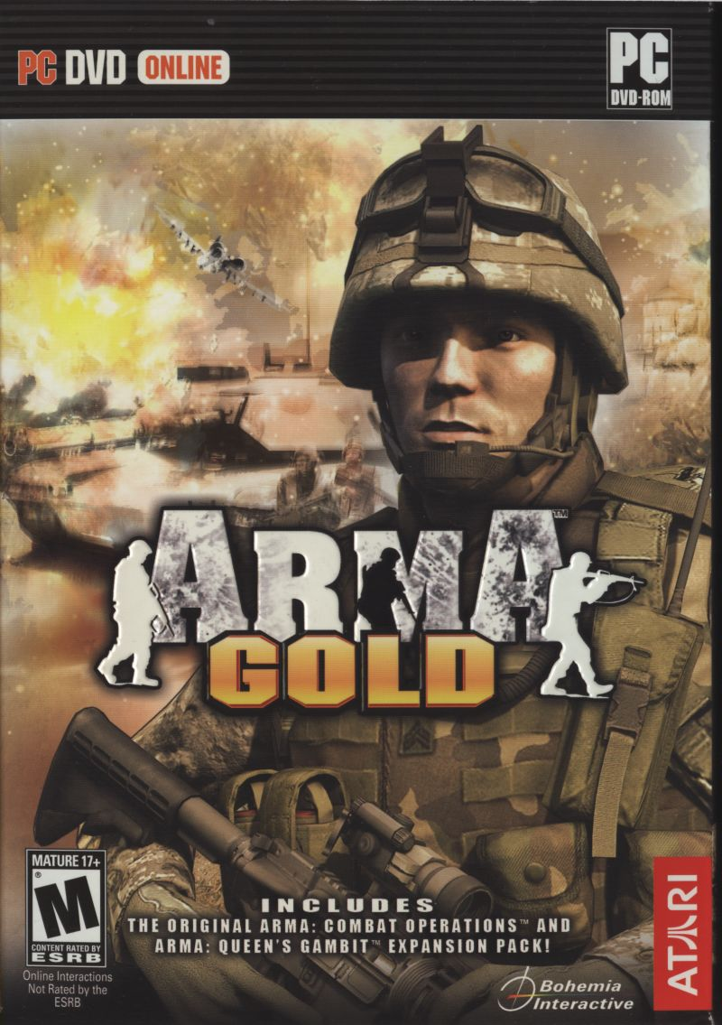 ArmA: Armed Assault (Gold Edition) Windows Front Cover