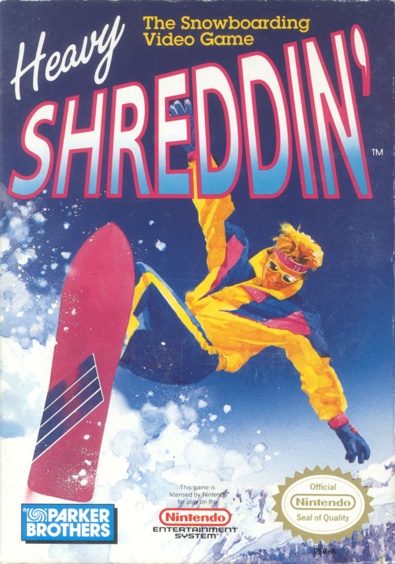 Heavy Shreddin' NES Front Cover