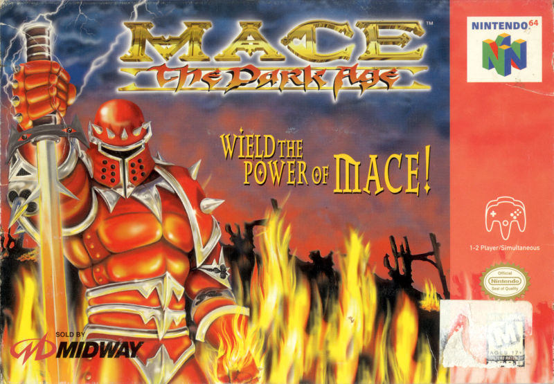 Mace: The Dark Age Nintendo 64 Front Cover