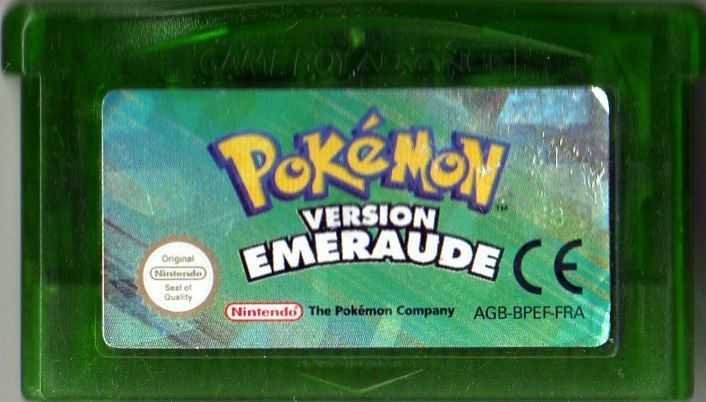 Pokémon Emerald Version Game Boy Advance Media