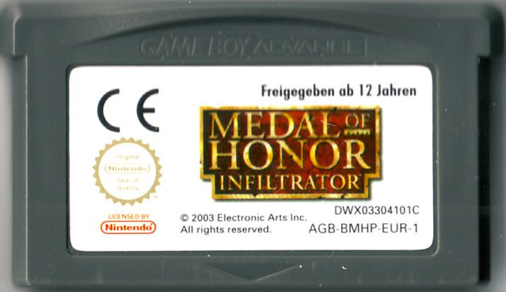 Medal of Honor: Infiltrator Game Boy Advance Media
