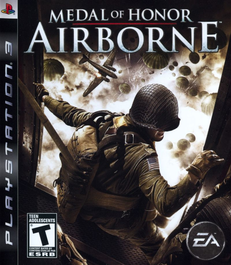 Medal of Honor: Airborne PlayStation 3 Front Cover