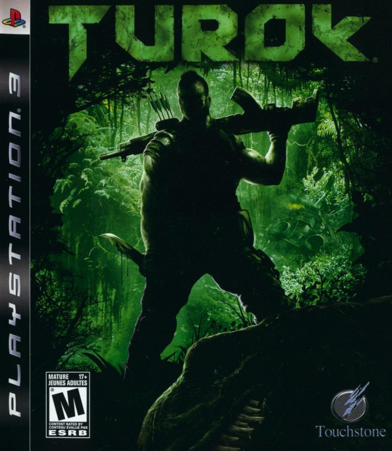 Turok PlayStation 3 Front Cover