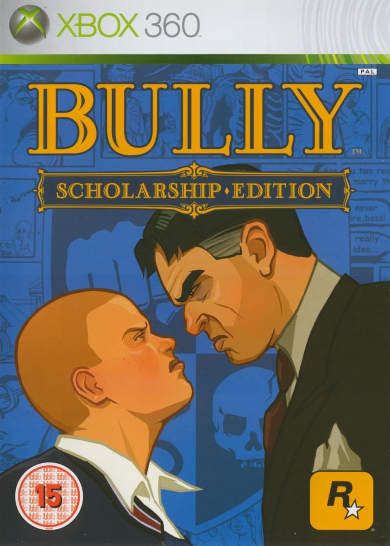 Bully: Scholarship Edition Xbox 360 Front Cover